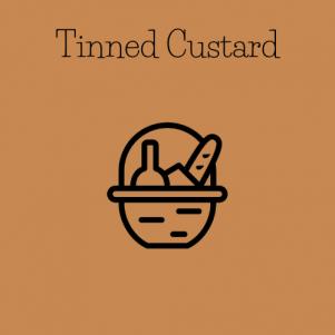 tinned custard