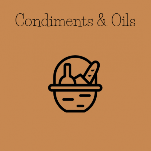condiments and oils